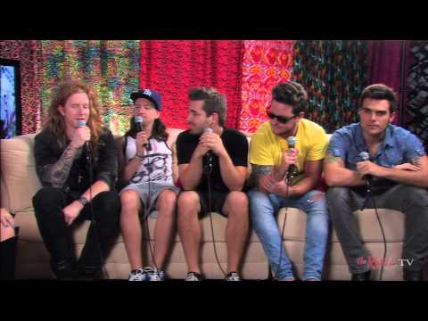 We The Kings Backstage Interview 7/16/13