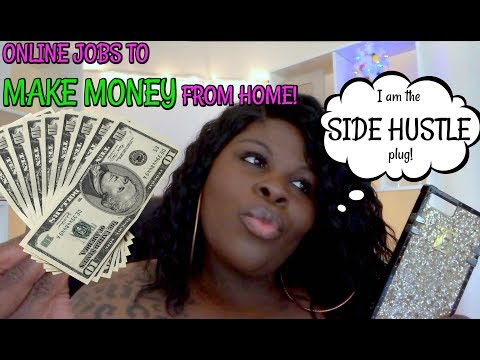 REAL WORK AT HOME JOBS & SIDE HUSTLES - MAKE MONEY ONLINE! (