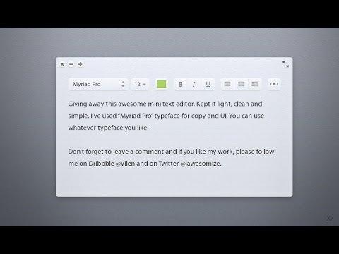 Rich Text Editor in JS - Part 1/3 | WYSIWYG html editor | JavaScript Tutorials thumbnail