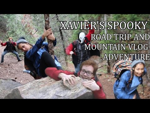 Xavier's Spooky Road Trip and Mountain Vlog Adventure (Featuring the Bridge Crab)