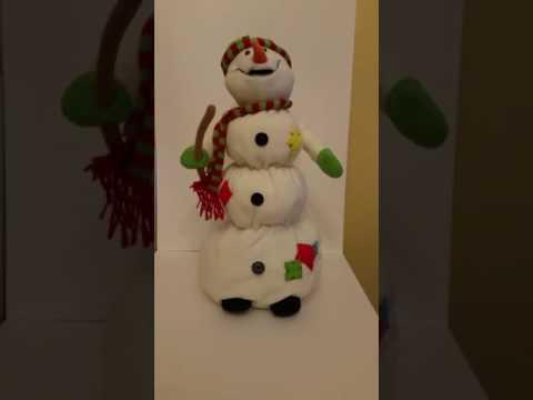 Musical Melting Snowman