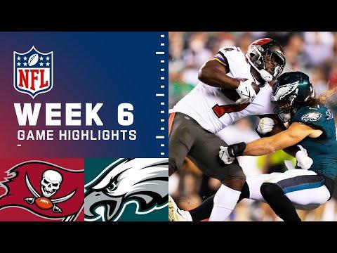 Buccaneers vs. Eagles Week 6 Highlights | NFL 2021