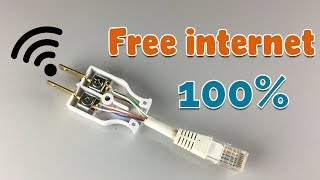 New Free internet WiFi 100% -  How to Get Free internet 2019
