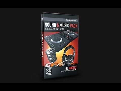 Sound & Music pack Elements 3D