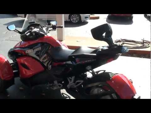 2009 CAN AM SPYDER 3 WHEEL MOTORCYCLE FOR SALE SEE WWW SUNSETMILAN COM