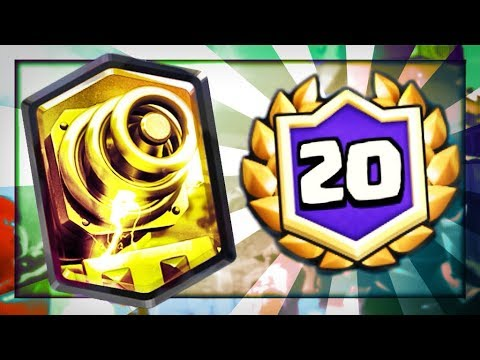 20 WINS with INSANE SPARKY RAGE DECK in CR League Challenge!