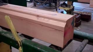 Custom Milled Log Home Manufacturing
