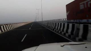 kosi mahasetu bridge on nh 57 in bihar