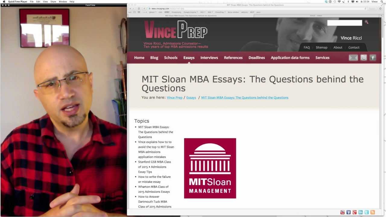 top mba essays