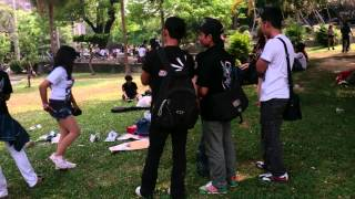 TKWS (taiwan kmpulan wong sragen) in taichung park