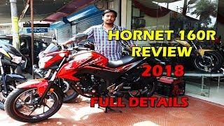 New 2018 Honda  Hornet 160r Full Review| ABS,NON-ABS,CBS version Full Details|