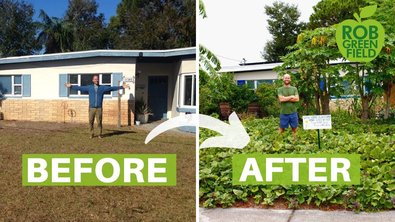 How to Turn Your Yard into a Garden | Grow Food Not Lawns