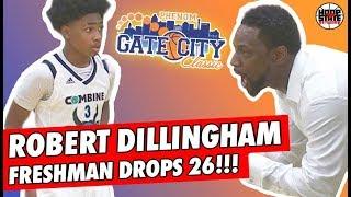 Robert Dillingham DROPS 26 in ONLY 19 Minutes!! Freshman Show vs 1A Power Henderson Collegiate!!!