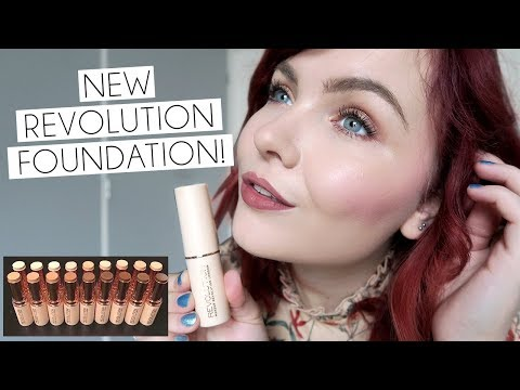 NEW Revolution Fast Base Foundation Stick 8 Hour Review!! SO GOOD!