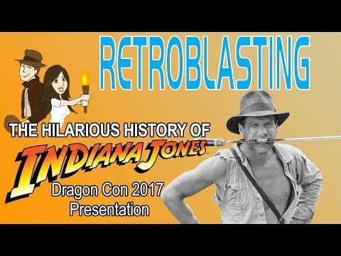 Dragon*Con 2017 Hilarious History of Indiana Jones Panel