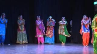 Miss and Mrs Punjaban  Australia 2014 Giddha performance