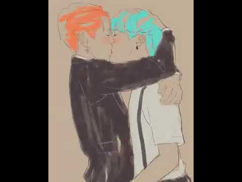Yoonmin kiss ~~