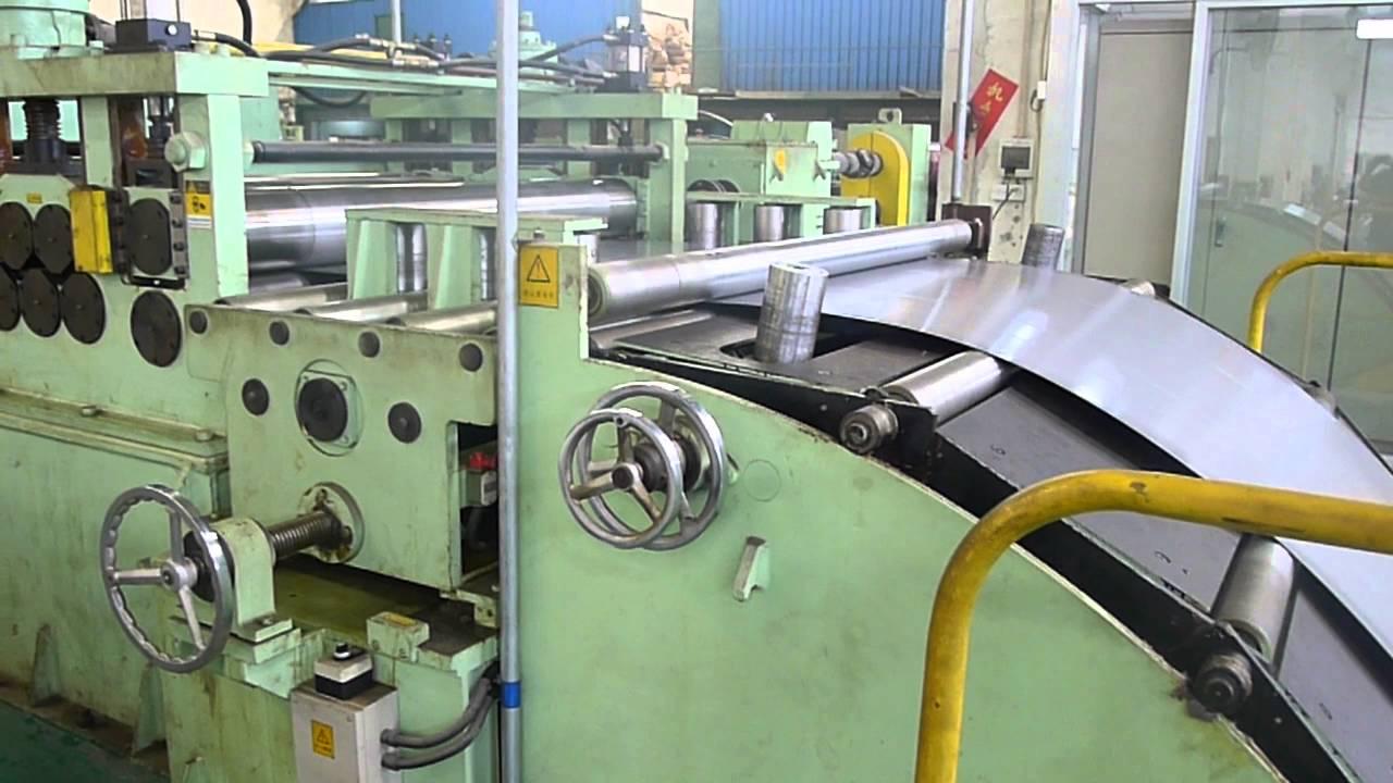 cut to length line machine