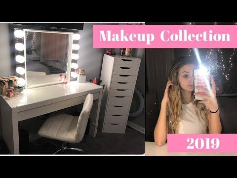 Updated 2019 Makeup Collection Of A 16yr Old!