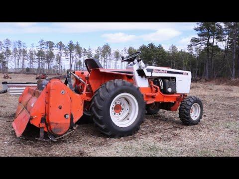Simplicity 4040 Powermax Garden Tractor 48