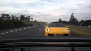 BMW M5 V10 vs Ferrari F430 vs Porsche Turbo PDK