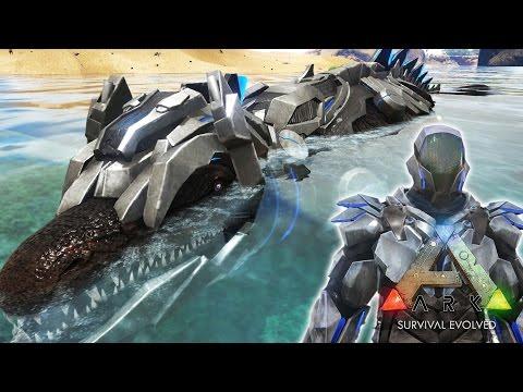 【ARK Survival Evolved 開拓団】Part06 水中拠点!TEKモサ!テレポーター!【TEKシリーズ】