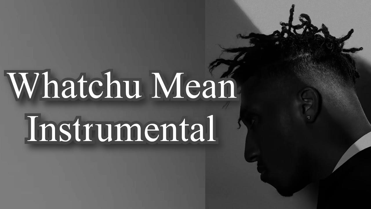 Lecrae - Whatchu Mean (Instrumental)
