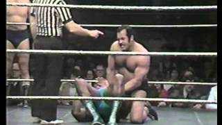 Tony Garea Rick Martel & SD Jones vs The Hangman Larry Sharpe & Johnny Rodz 1/2