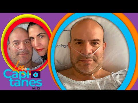 """""""Platanito"""" hospitalizado: Covid-19 atacó su corazón"""