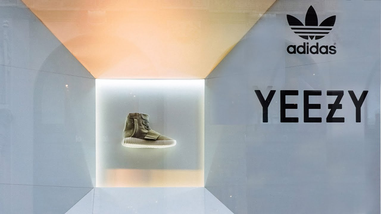 adidas yeezy boost ad