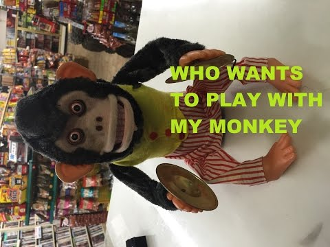 musical Jolly Chimp monkey clapping scary cymbals review pawn stars toy story  ebay