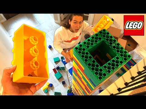 BUILDING WORLDS BIGGEST LEGO TOWER! (With Unspeakable)