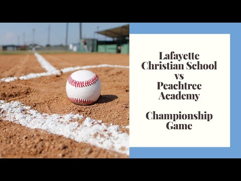LCS vs Peachtree Academy Championship game 2019