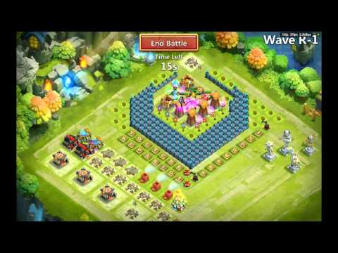 Castle Clash: First Attempt At HBM R With Corner Base - Ep14