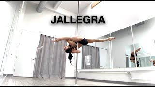 How to do a Jallegra on the Pole Tutorial - Pole Dancing Tutorials by @Elizabeth_bfit