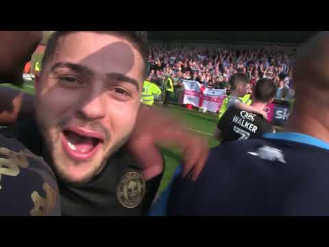COCO CAM: Latics celebrate promotion to the Sky Bet Championship