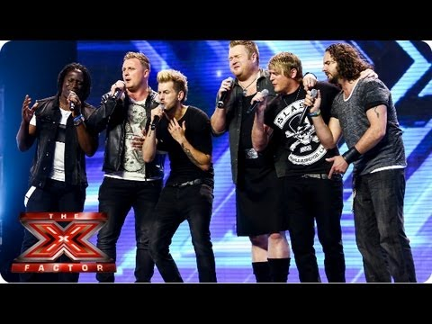 The Tenors of Rock, rock out! – Arena Auditions Week 4 – The X Factor 2013