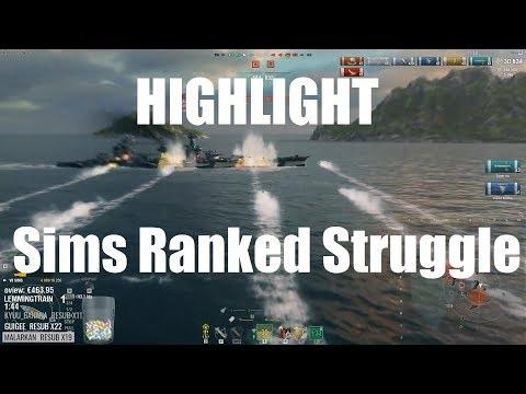 Highlight: Sims Ranked Struggle