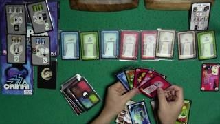 ソロ用カードゲーム「オニリム」のプレイ動画です。 旧版に入っていた3つの拡張をいれてあります。 ・足跡の書 ・暗黒の前兆と幸福な夢 ・塔.