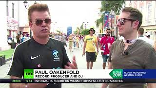 Ready Steady Go! Paul Oakenfold talks 'changed Russia' & World Cup