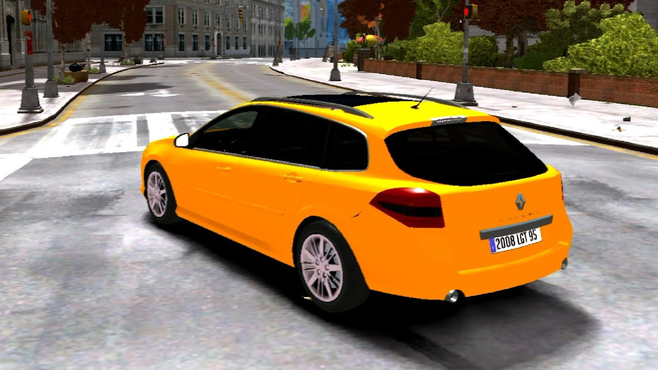 gta iv renault laguna iii 1 estate gt youtube. Black Bedroom Furniture Sets. Home Design Ideas