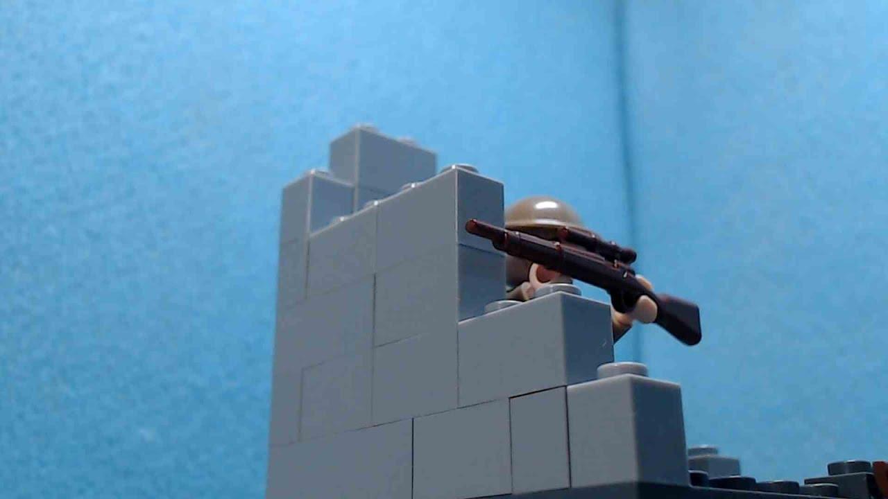 Lego WW2 Sniper
