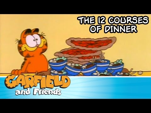The 12 Courses of Dinner - Garfield & Friends