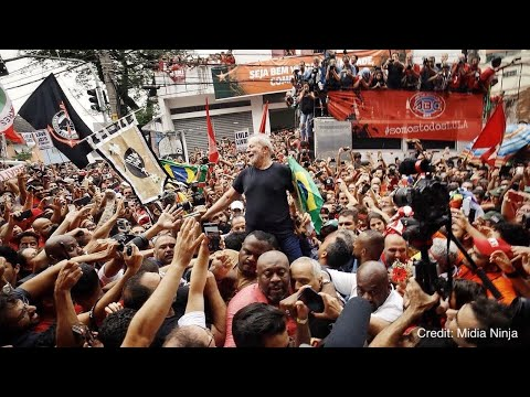 Brazil's Ex-President Lula Freed, Promises To Continue Fight For Justice
