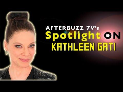 Kathleen Gati   AfterBuzz TV's Spotlight On