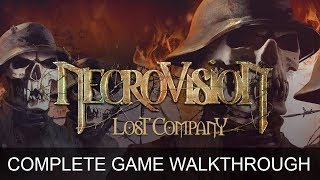 Necrovision 2 The Lost Company Complete Game Walkthrough Full Game Story  (1080p 60 FPS)