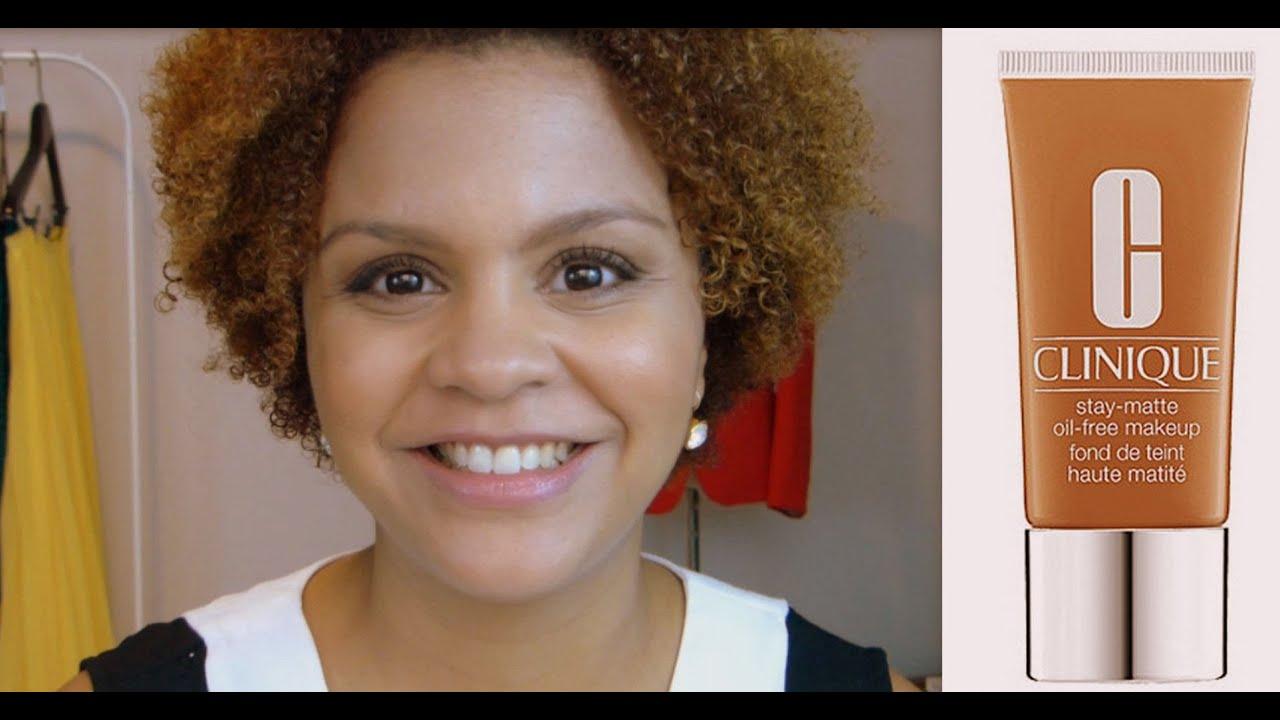 maquillaje oil free clinique