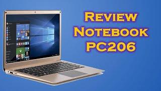 Unboxing notebook Intel Celeron N3350 Multilaser PC206