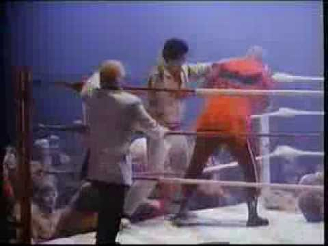 Modern Day Houdini movie clip with Scott Romer, Bruiser, Huber, Ox Baker, Bob Luce 1983