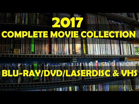2017 Complete Movie Collection (Blu-Ray/DVD/Laserdisc/VHS)